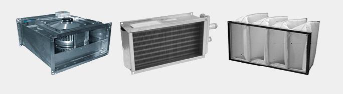 Канальная вентиляция с прямоугольным сечением