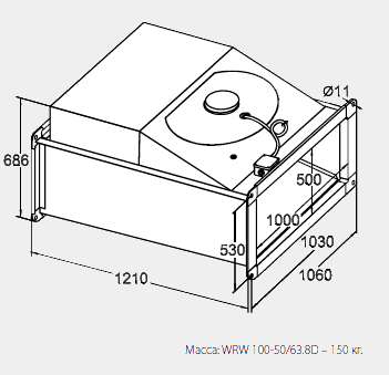 ������� ���������� ����������� WRW 100-50/63-4D